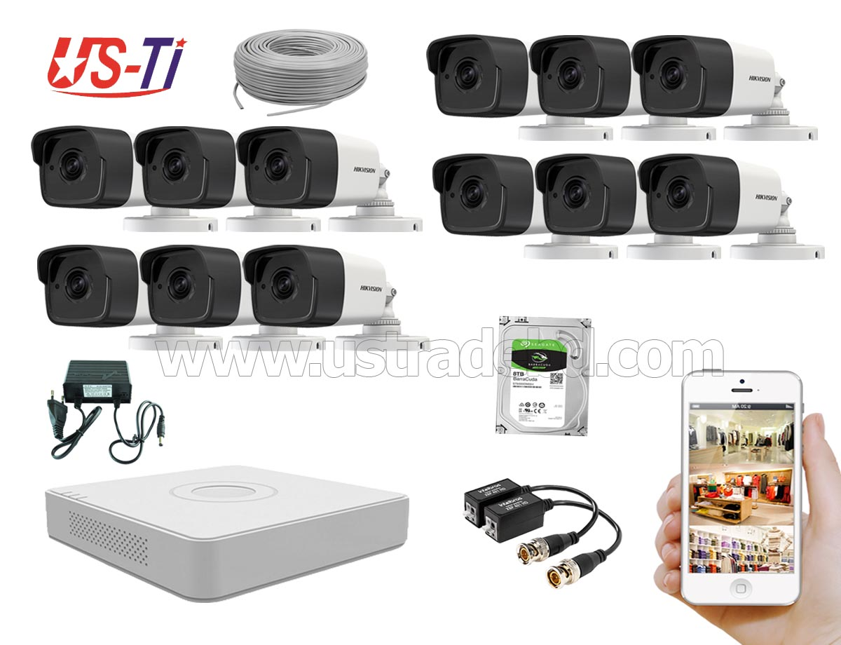 5MP Hikvision 12 Full HD CCTV Package