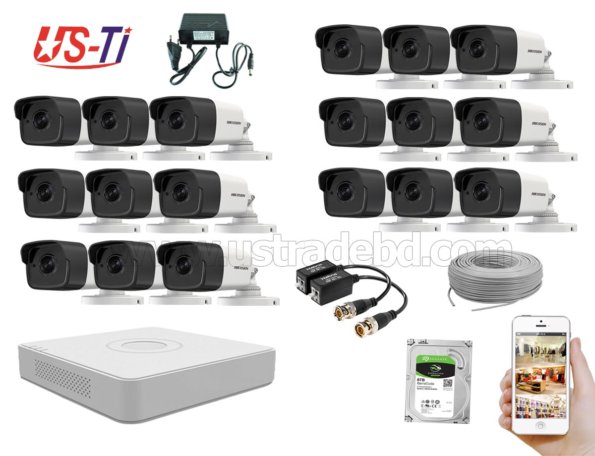 5MP Hikvision 18 Full HD CCTV Package