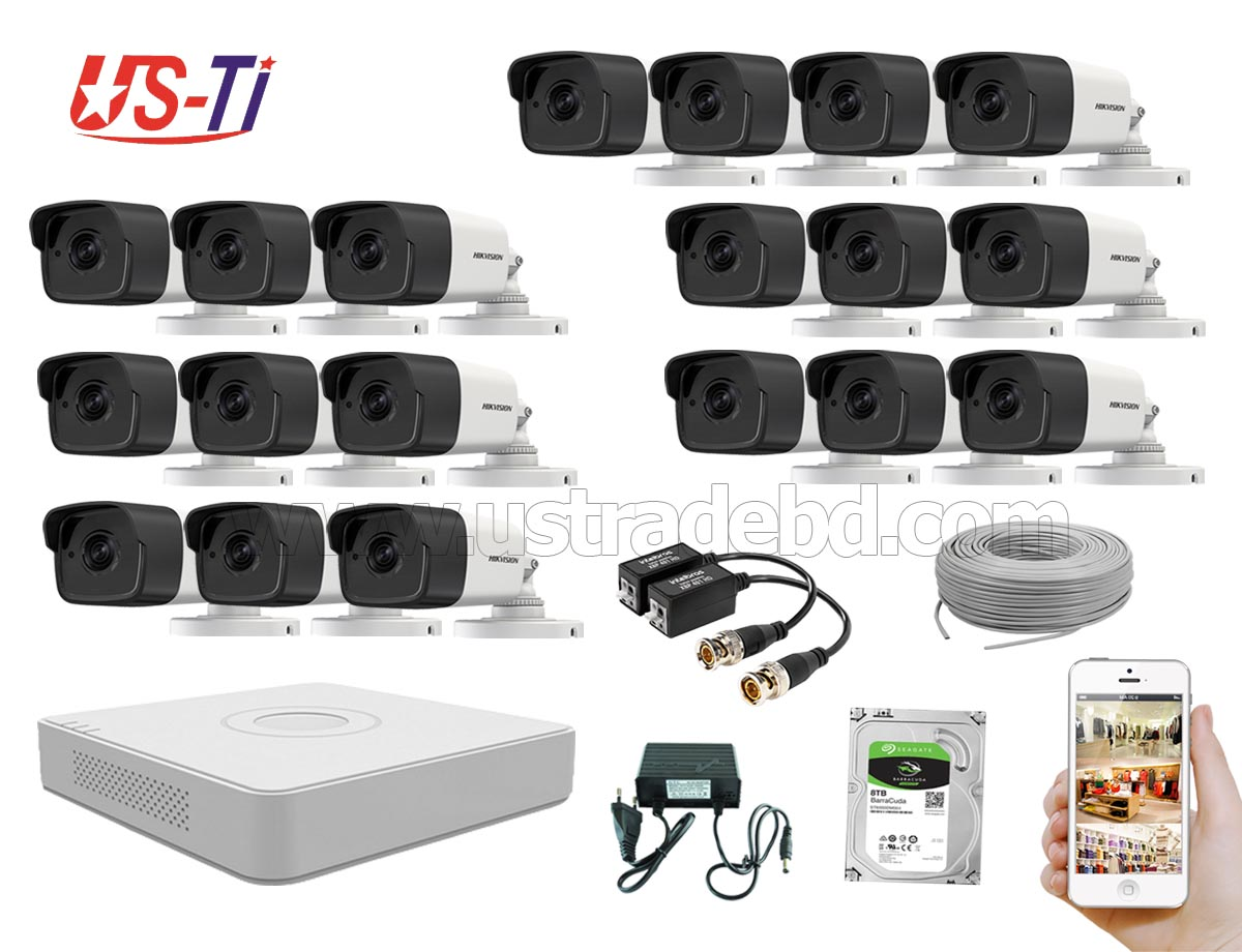 5MP Hikvision 19 Full HD CCTV Package