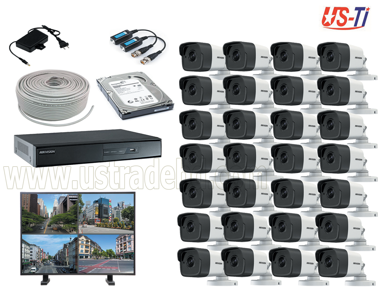 5MP Hikvision 28 Full HD CCTV Package