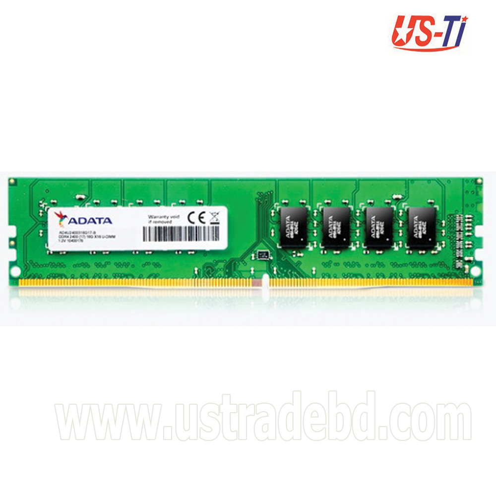 ADATA 16 GB DDR4 2400 BUS Desktop RAM