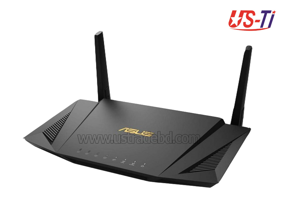 Asus RT-AX56U AX1800 Dual Band WiFi 6 Gaming Router with AiProtection Pro