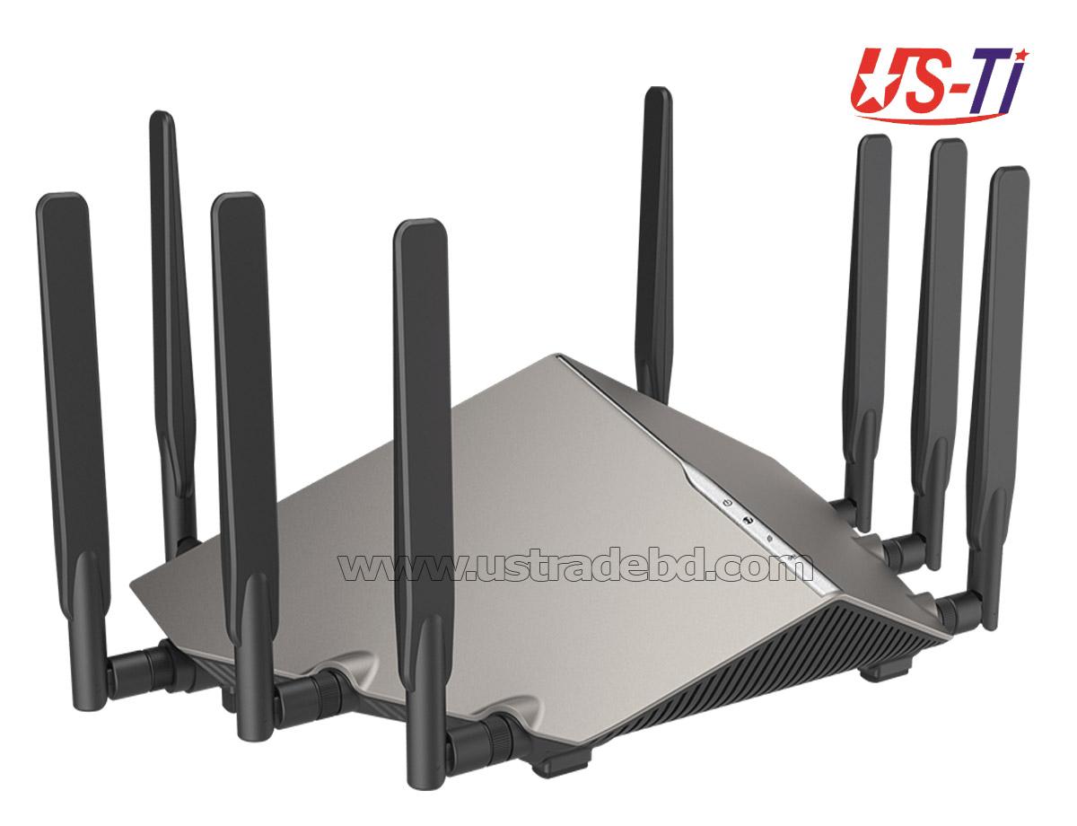 D-Link DIR-X6060 AX6000 Dual Band Multi-Gigabit 8 Antenna Wi-Fi 6 Gaming Router