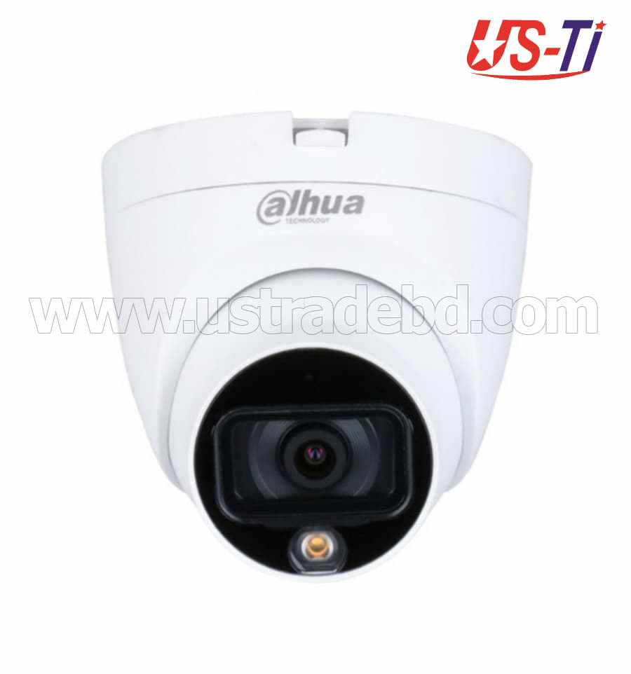 Dahua HAC-HDW1209TLQP-LED 2M Full-color HDCVI Dome Camera