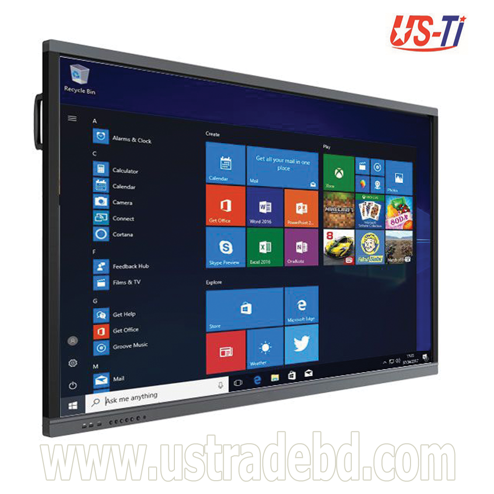 "Dopah ILD-1086 86"" Multi Touch All-In-One Interactive LED Smartboard"