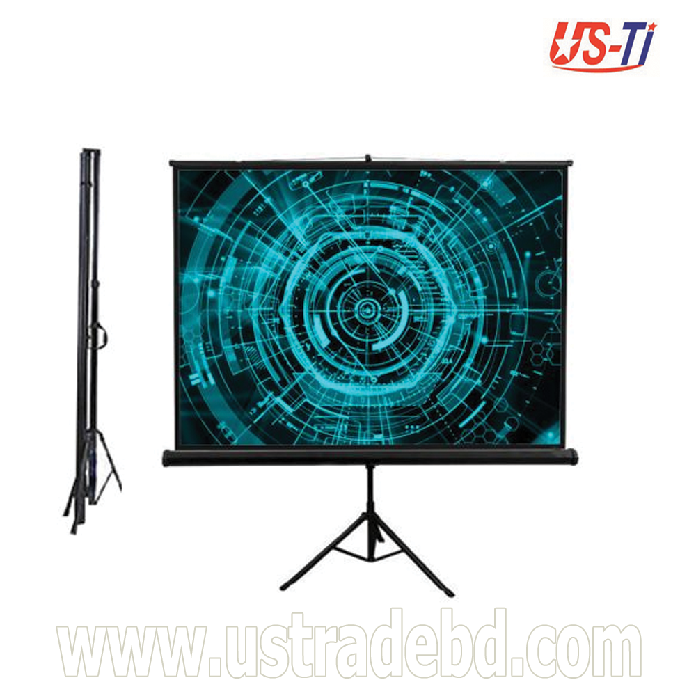"Dopah Tripod Projector Screen 96"" X 96"" (8' X 8') Matt White"