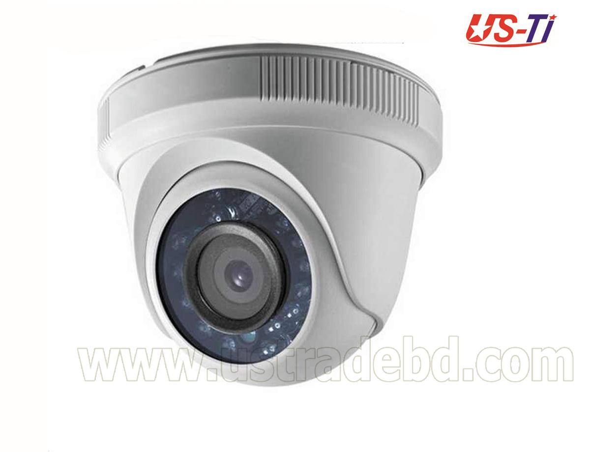Hikvision DS-2CE56D0T-IRPF HD 1080p Indoor IR Turret Camera