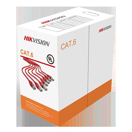 Hikvision DS-1LN6U-SC0 U/UTP Cat6 Cable PVC 23 AWG