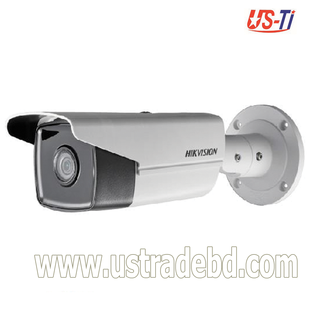 Hikvision DS-2CD2T43G0-I8-4 MP IR Fixed Bullet Network Camera