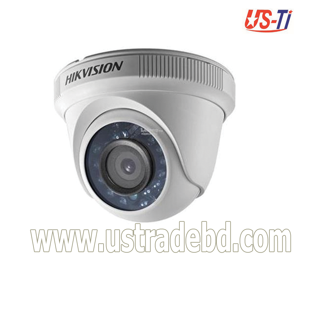 Hikvision DS-2CE56C0T-IRPF 1 MP Fixed Indoor Turret Camera