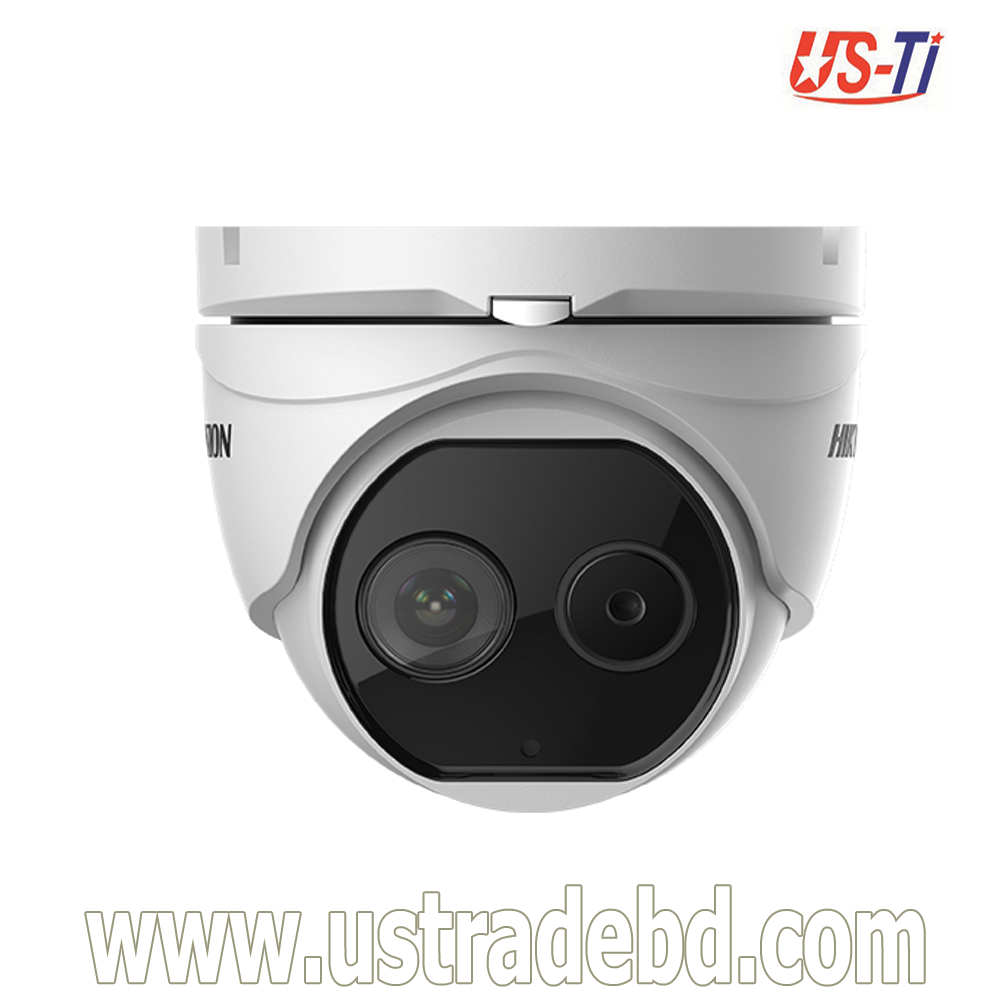 Hikvision  DS-2TD1217-V1 Thermal-Optical DeepinView Network Turret Camera