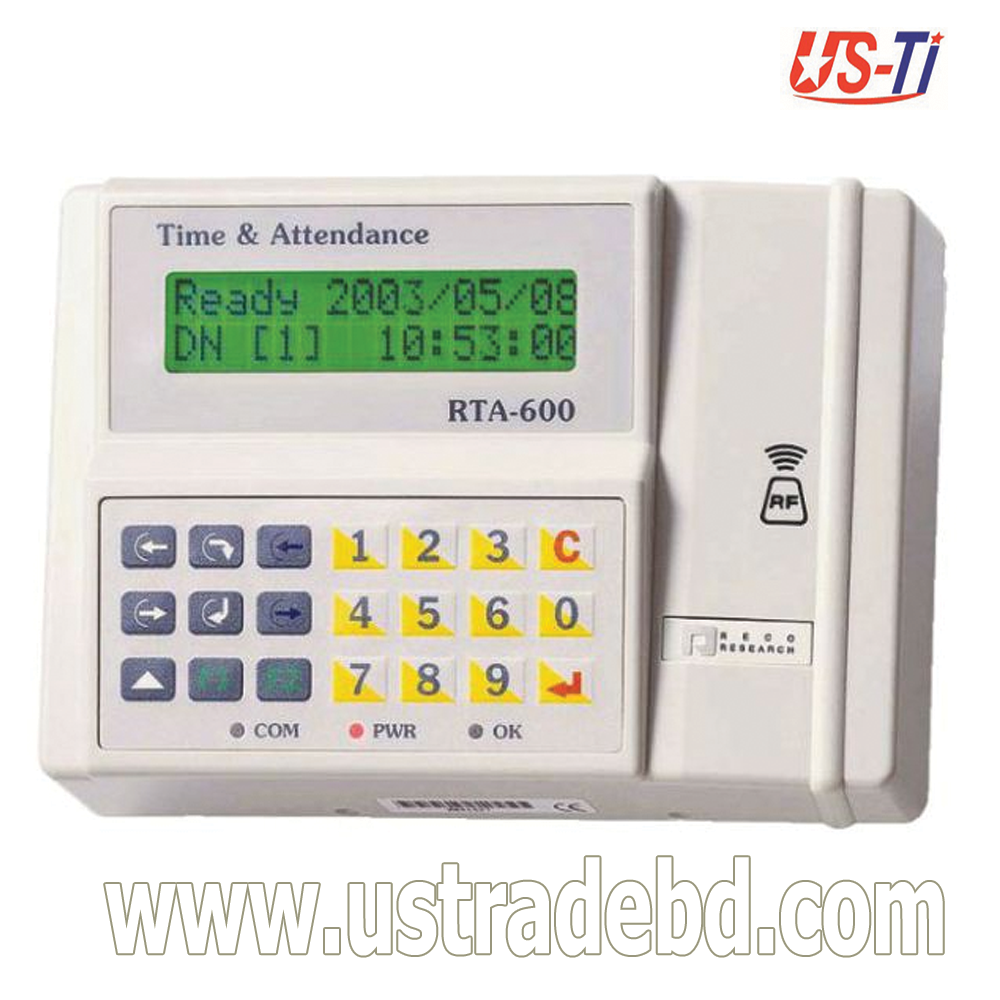 Hundure RTA 600, Time Attendance Access Control Device