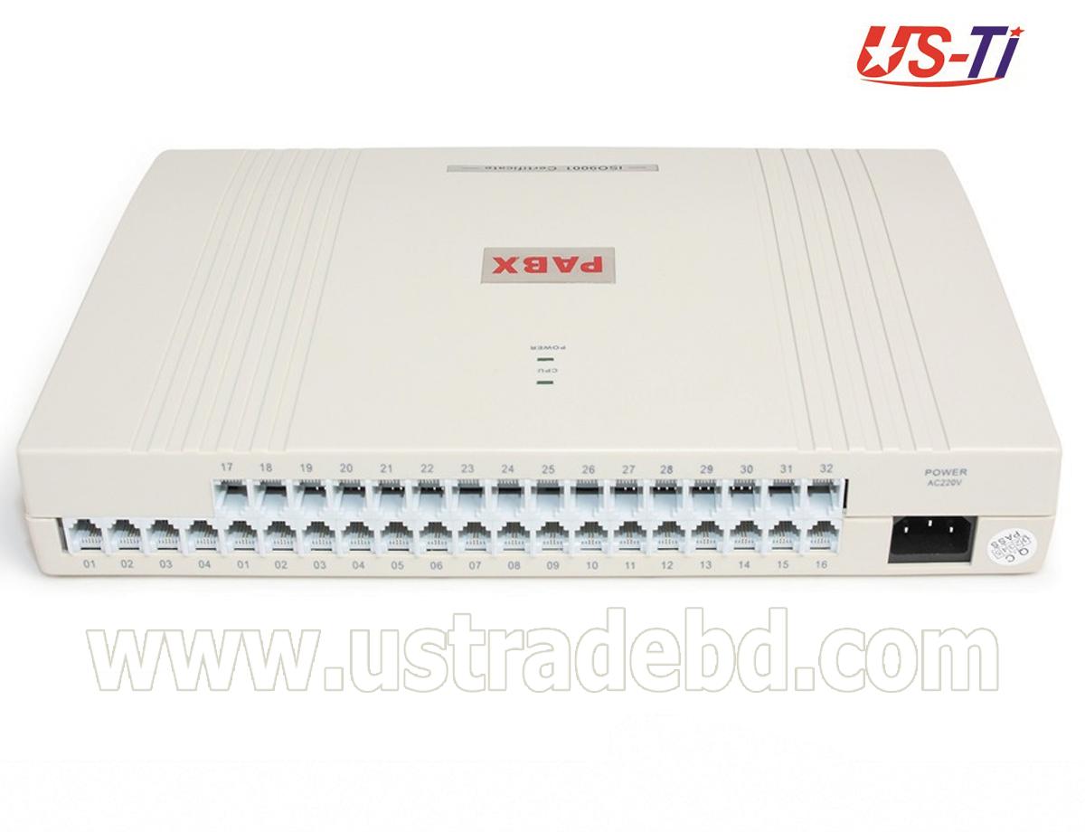 IKE 32 Line PBX Intercom System Original