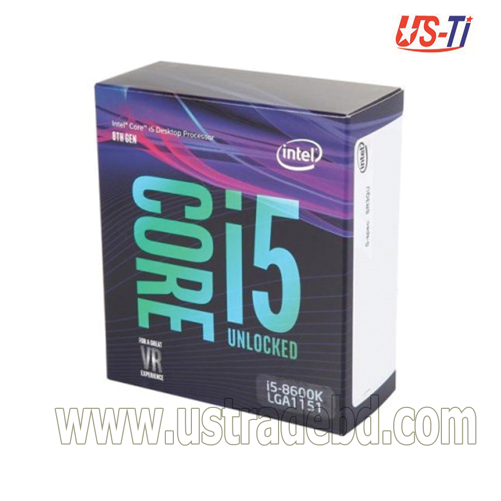 Intel 8th Generation Core i5-8600k Processor