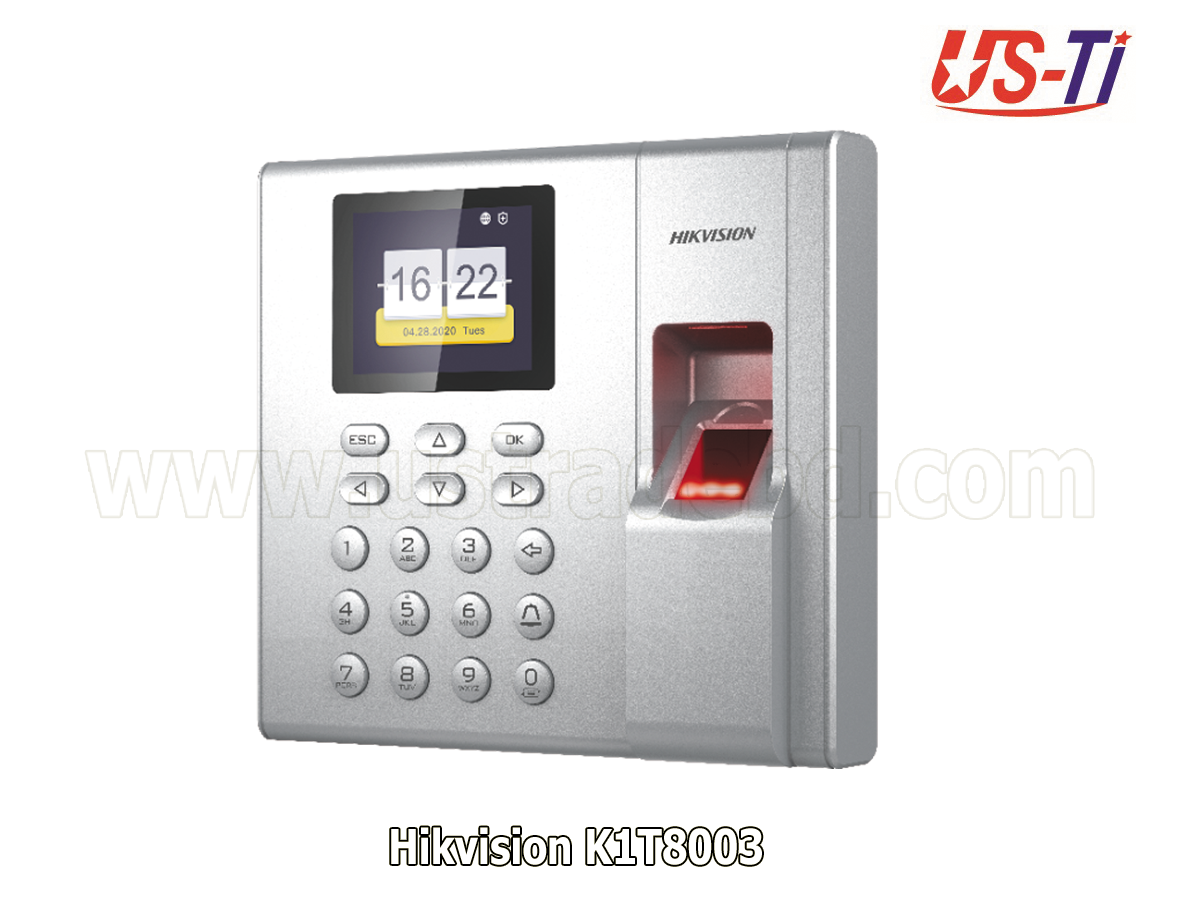 K1T8003 Value Series Fingerprint Time Attendance
