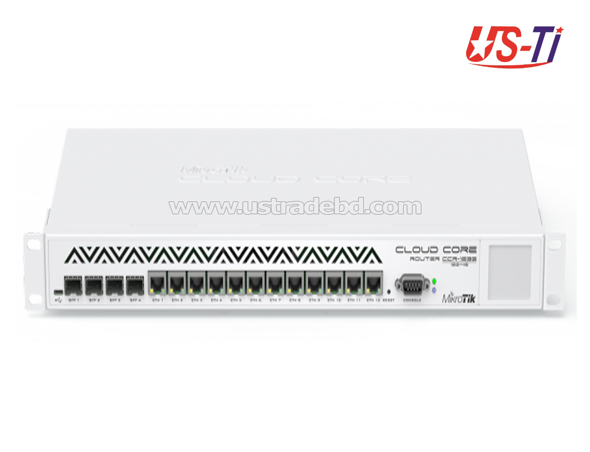 Mikrotik CCR1036-12G-4S Industrial Grade Cloud Core 12 Port Gigabit Ethernet Router