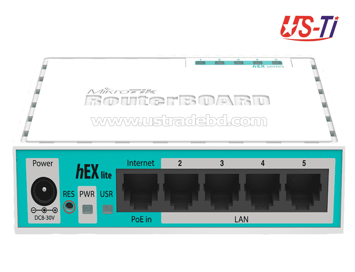 Mikrotik Hex RB750GR3 Plastic Body Gigabit Ethernet Router