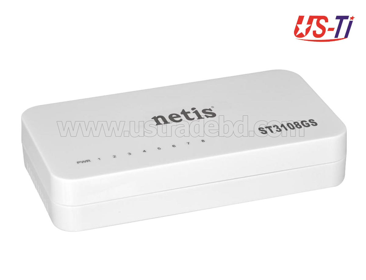 Netis ST3108GS 8 Port Gigabit Ethernet Switch