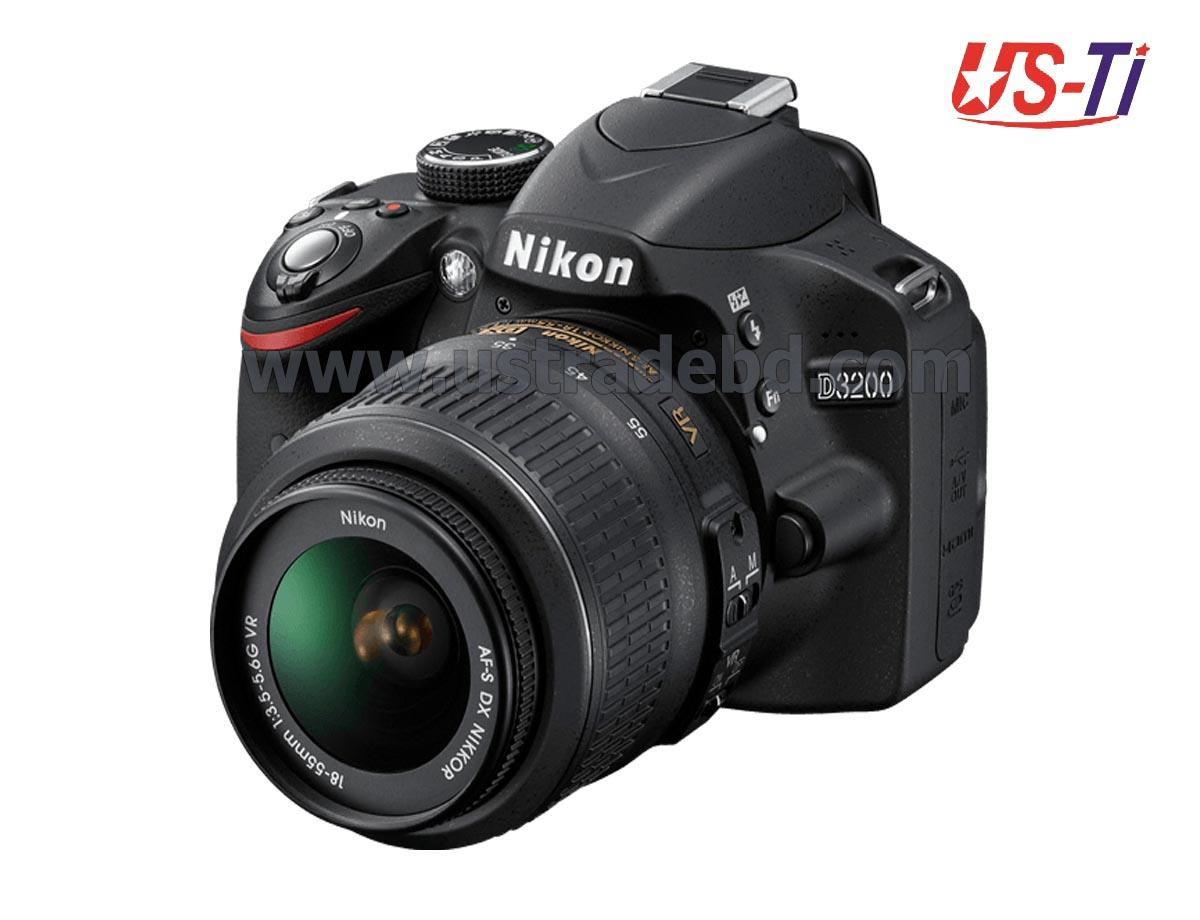 Nikon D3200 DSLR 24.2 MP With 18-55mm Lens