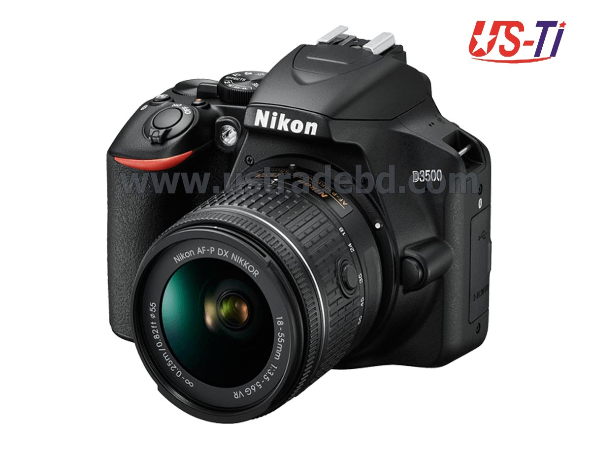 Nikon D3500 Digital DSLR Camera with 18mm-55mm Lens