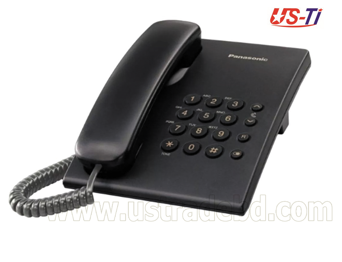 Original Panasonic KX-TS500MX Black Phone Set
