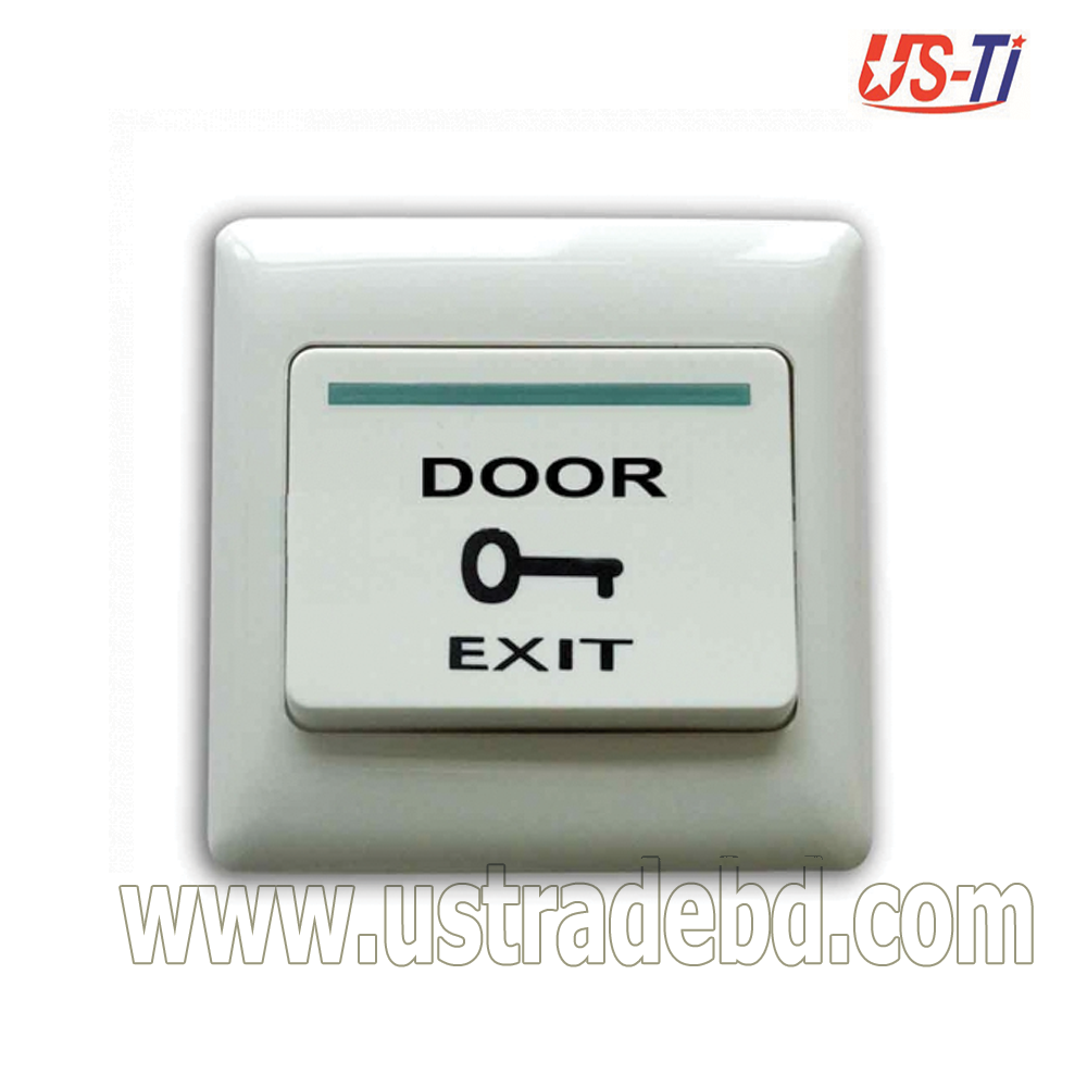 Push Touch Exit Button Door Exit Release Button Security Access Control System