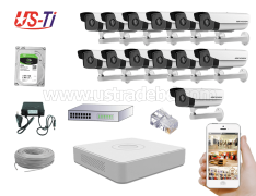 2MP IP Hikvision 13pc camera Package