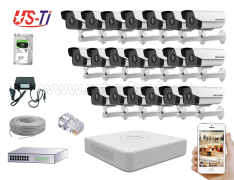 2MP IP Hikvision 20pc camera Package