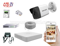 4MP IP Hikvision 1pc camera Package