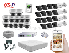 4MP IP Hikvision 27pc camera Package