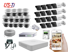 4MP IP Hikvision 29pc camera Package