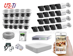 4MP IP Hikvision 32pc camera Package