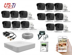 5MP Hikvision 14 Full HD CCTV Package
