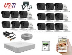 5MP Hikvision 15 Full HD CCTV Package