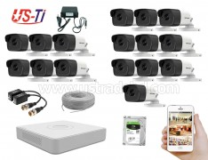 5MP Hikvision 16 Full HD CCTV Package