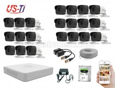 5MP Hikvision 22 Full HD CCTV Package