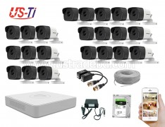 5MP Hikvision 23 Full HD CCTV Package