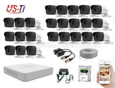 5MP Hikvision 24 Full HD CCTV Package