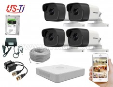 5MP Hikvision 4 Full HD CCTV Package