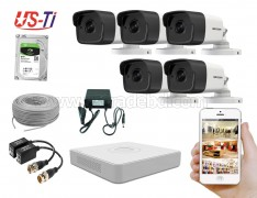 5MP Hikvision 5 Full HD CCTV Package