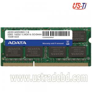 ADATA 4 GB DDR3L 1600 GHZ (LOW VOLTAGE) LAPTOP RAM