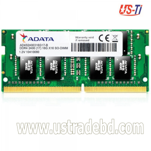 ADATA DDR4 2400 BUS Laptop Ram- 16GB