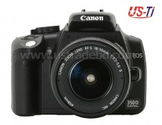 Canon EOS 350D DSLR Camera
