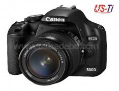 Canon EOS 500D DSLR camera
