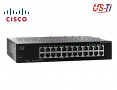 Cisco Unmanaged Switch 24-Port 10/100 Hi Speed SF90-24-AS