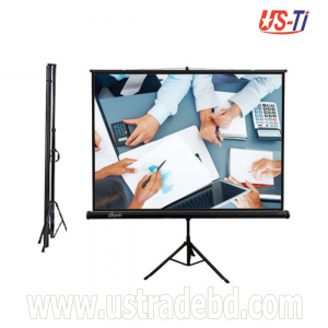"Dopah Tripod Projector Screen 70"" X 70"" (6' X 6') Matt White"