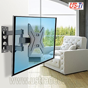 "LED LCD Plasma Tv Moving Wall Mount for TV 14"" - 42"" - Black"