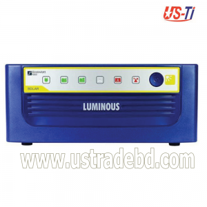 LUMINOUS ECO WATT IPS / INVERTER 1650VA, 990W, 200A, 8Fan, 8 Light