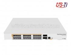 Mikrotik CRS328-24P-4S+RM 24 port Mountable Rack Switch
