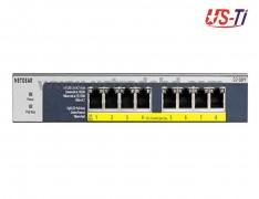 Netgear GS108PP 8 +4 PoE Port Pro Safe Gigabit PoE Unmanaged Desktop Switch